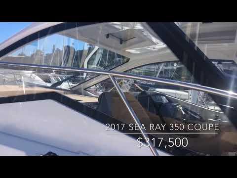 Sea Ray Sundancer 350 Coupe video