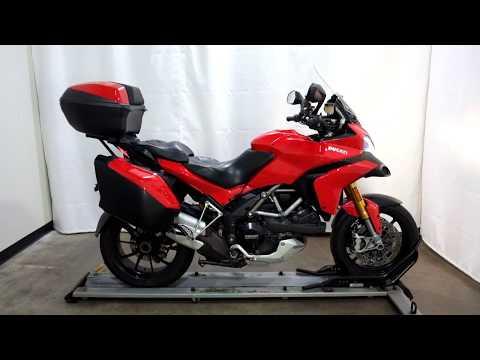 2012 Ducati Multistrada 1200 S Touring in Eden Prairie, Minnesota - Video 1