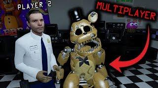 FNAF 7 - Ultimate Custom Night Gameplay (MULTIPLAYER FNAF Roleplay)