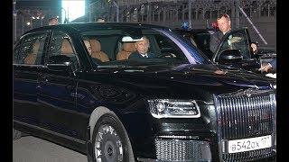 Путин сел за руль «Аурус» и прокатил Президента Египта Абдельфаттаха Сиси