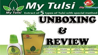 MY TULSI FROM MY RECHARGE UNBOXING AND REVIEW |AkashZone