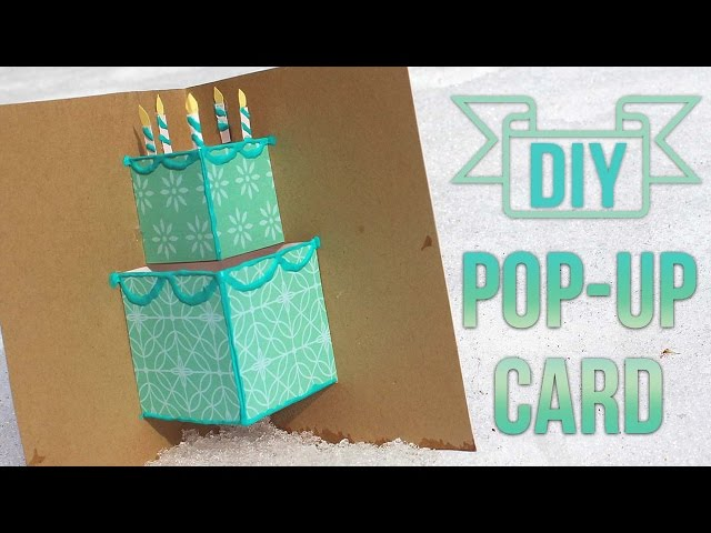 Simple Pop Up Birthday Card Essyjae