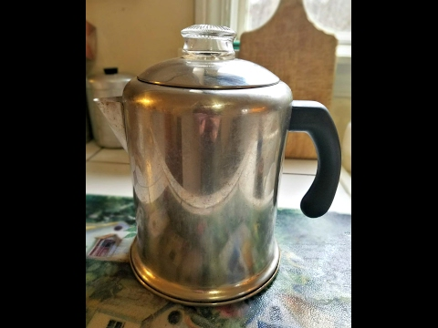 Making Coffee In A Percolator   How To Clean The Pot
