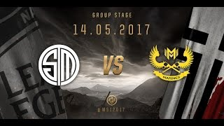 [14.05.2017] TSM vs GAM [MSI 2017][Group Stage]