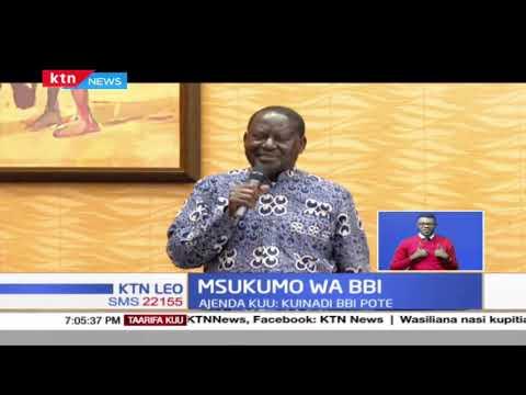 Raila Odinga akutana na vyama vya wanafunzi na kuwarai kuunga mkono ripoti ya BBI