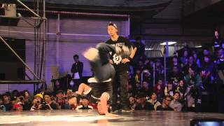 B-BOYING: RB BC One - Asia-Pacific Final (2013) (B-Boy Action from Japan)
