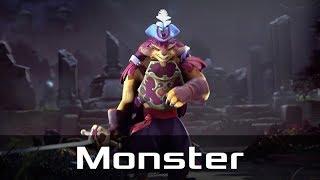 Monster — Pangolier, Offlane (Mar 15, 2019) | Dota 2 patch 7.21 gameplay