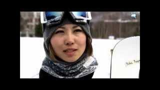 藤森由香、スノーボード全日本選手権優勝!