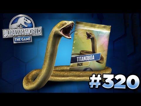 Grinding The Titanoboa Tournament! || Jurassic World - The Game - Ep320 HD