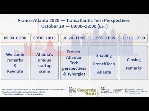 Transatlantic Tech Perspectives : Les nouvelles opportunités pour la tech française dans le Sud-Est des Etats-Unis