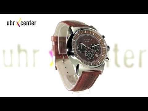 Esprit ES106851002 Woodward Brown Herren-Chronograph