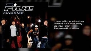 Five: 11. Breakdown (Lyrics)