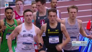 2018 NCAA Indoor Track and Field National Championship Distance Medley Relay, DMR, Virginia Tech