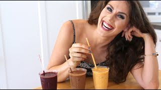 3 Skincare Smoothies For Beautiful Skin + Body! Acne + Anti Aging + Dry Skin | VR Youtube 360 180