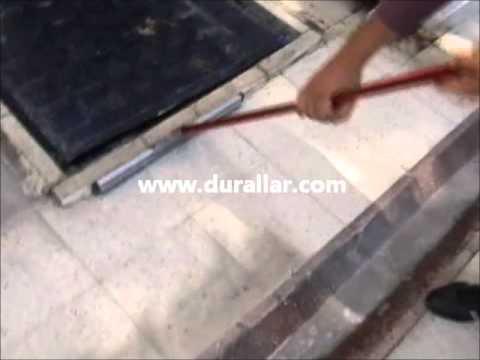Durclean 521 cila makinası zemin yıkama makinası