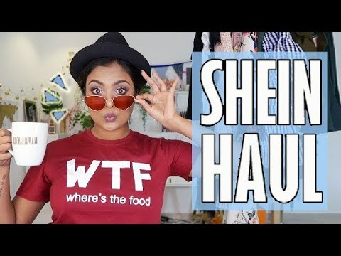 HUGE TRY-ON HAUL FROM SHEIN + BREAKING DOWN SUMMER FASHION TRENDS 2018