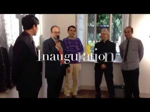 InJung Oh, Brigitta Rossetti, Sergio Gomez and Mario Gonzalez opening at MIIT Museo, Italy