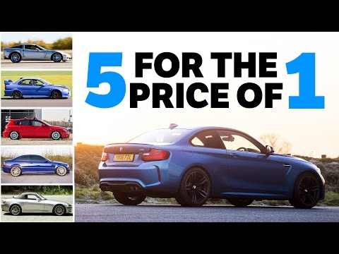 5 Awesome Used Cars You Can Buy For The Price Of A Single BMW M2