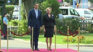 Prim-ministrul Republicii Polone, primit la Palatul Victoria