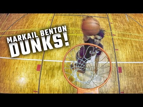 Alabama 4-star LB signee Markail Benton throws down some serious dunks