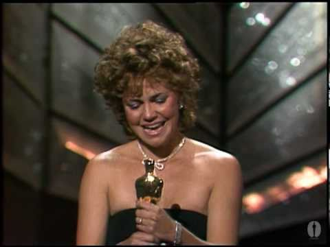 "Sally Field winning an Oscar® for ""Places in the Heart"" Thumbnail"