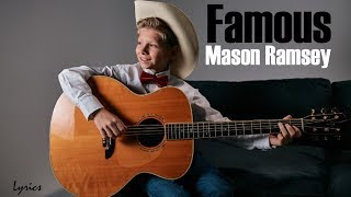 Mason Ramsey - Famous [Full HD] lyrics - Video Youtube