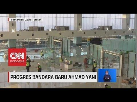 Bandara Baru Ahmad Yani Semarang Siap Beroperasi