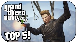 Top 5 KILLS YOU DIDN'T SEE COMING in GTA 5! (Episode #75)