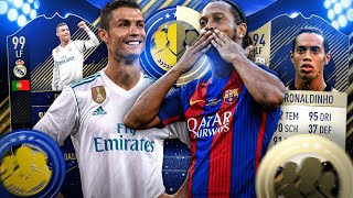 FIFA 18: RONALDINHO PRIME ICON Vs CR7 TOTY SQUAD BUILDER BATTLE Mit GAMERBROTHER 🔥