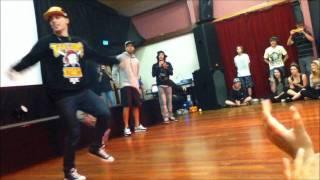 Justice Crew Intro Performance