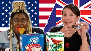 Australian and Americans Swap Snacks Part 2