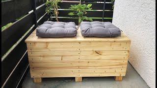 Holzkiste einfach selbst bauen