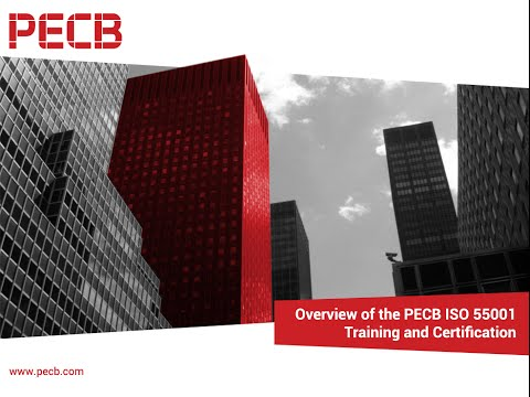 Overview of the PECB ISO 55001 Training and Certification course ...