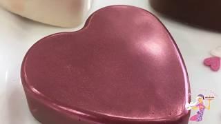Heart Shaped Chocolate Covered Oreos