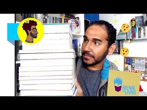 Só Livros por 10 REAIS | MEGA Book Haul | Bienal do Livro 2019