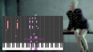 2NE1 - Missing You (Piano)