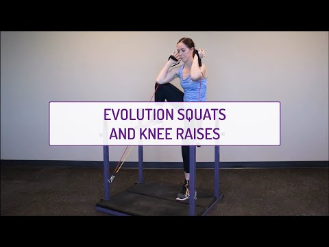Evolution Squats and Knee Raises