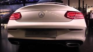 2016 Mercedes-Benz C-class Coupe   IAA 2015   NewGadgets.de