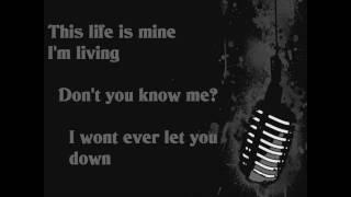 3 Doors Down - Be Somebody -Lyrics-