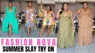 FASHION NOVA PLUS SIZE HAUL  Another Day, Another Slay  Plus Size Fashion
