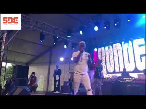 Harmonize performs at Koroga Festival