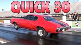 Quick 30 - Drag Racing - July 2016 Preview by High Tech Corvette