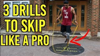 3 (UNDERRATED) Footwork Drills For Better Skipping   BEGINNER GUIDE By Rush Athletics