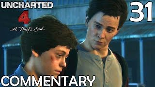 Uncharted 4 Walkthrough Part 31 - Origin Of The Drake Surname (Chapter 16)