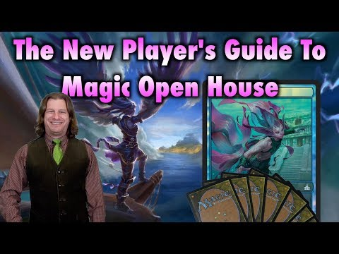 MTG – The New Player's Guide To Magic The Gathering Open House
