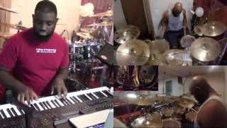 "Anthony Brown & Group Therapy - ""And You Never Will"" (COVER - retry on the drums)"