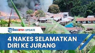 KKB Papua Serang Puskesmas Kiwirok Buat Para Nakes Kocar-kacir, 1 Mantri Dinyatakan Hilang