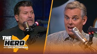 Mark Schlereth and Colin Cowherd each make their picks for NFL Wild Card weekend | NFL | THE HERD