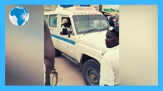 Lamu ambulance driver recalled in fuel row - VIDEO