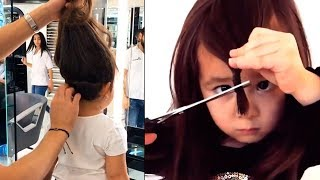 Hairstyles for Kids | Natural Hair Transformation for Kids 2018 👧